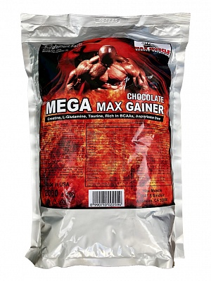 Гейнер Mega Max Gainer 2000 g. Max Muscle