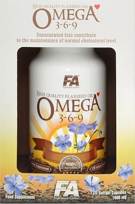Omega 3-6-9 120 caps. Fitness Authority