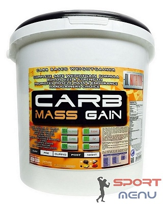 Гейнер Carb Mass Gain 5400 g. DL Nutrition