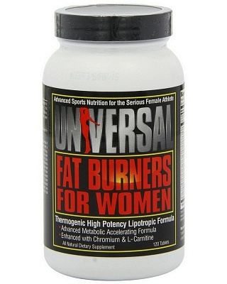 Жиросжигатель Fat Burners for Women 60 caps. Universal Nutrition