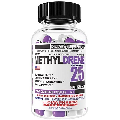 Жиросжигатель Methyldrene Elite 25 100 caps. Cloma Pharma