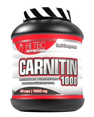 Жиросжигатель Carnitin 1000 60 caps. Hi-Tec Nutrition