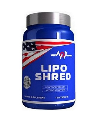 Жиросжигатель Lipo Shred 120 caps. MEX Nutrition