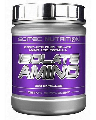 Isolate Amino 250 cap. Scitec Nutrition