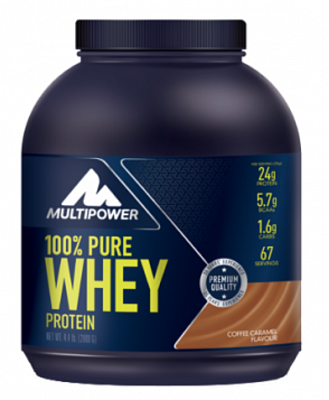 Протеин 100% Whey Protein 2000 g. MultiPower