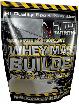 Гейнер Whey Mass Builder 3000 g. Hi-Tec Nutrition