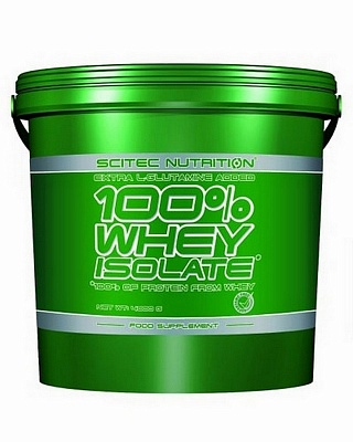 Протеин 100% Whey Isolate 4000g. Scitec Nutrition