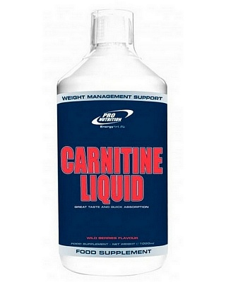 Жиросжигатель Carnitine Liquid 500 ml. Pro Nutrition