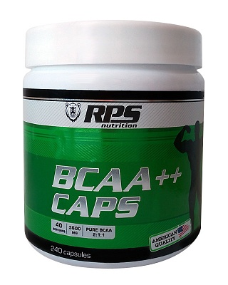 Аминокислоты BCAA  2:1:1 240 caps. RPS Nutrition