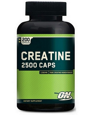 Креатин Creatine 2500 200 caps. Optimum Nutrition