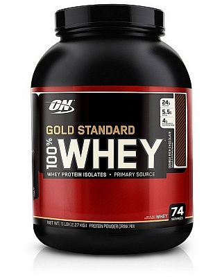 Протеин 100% Whey Gold Standard Protein 2270 g. Optimum