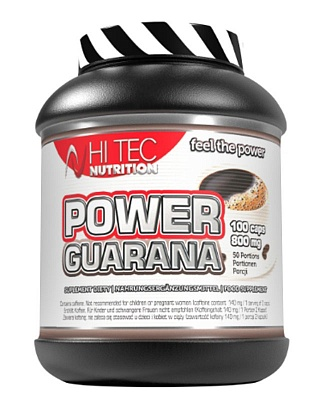 Энергетик Power Guarana 100 caps. Hi-Tec Nutrition