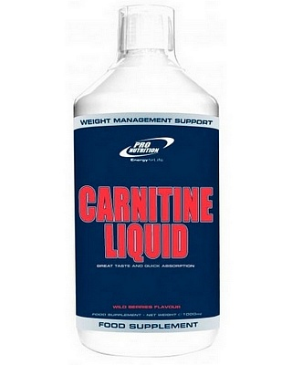 Жиросжигатель Carnitine Liquid 1000 ml. Pro Nutrition