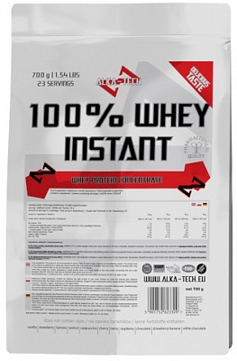 Протеин 100% Whey Instant 700 g. Alka-Tech