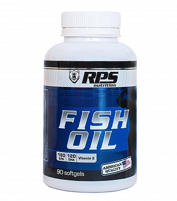 Omega 3 Fish Oil 90 cap. RPS Nutrition