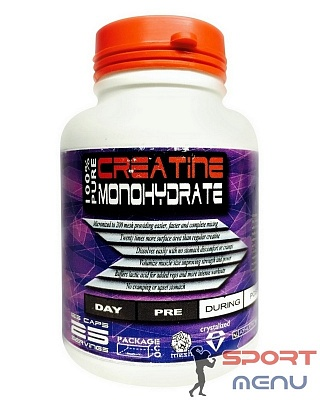 Креатин Creatine 125 caps. DL Nutrition