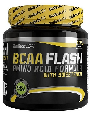 Аминокислоты BCAA Flash 540 g. Biotech USA