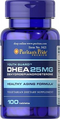 DHEA 25 100 tab. Puritain's Pride