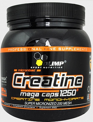 Креатин Creatine Mega Caps 400 caps. Olimp