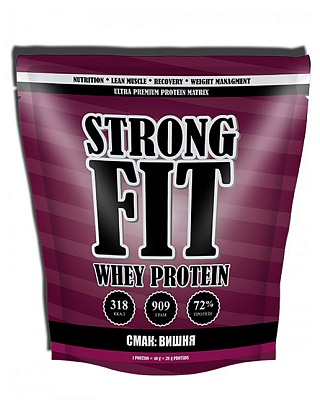 Протеин Whey Protein 909 g. Strong Fit